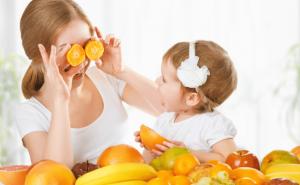 ילדים טבעוניים, תפוזים